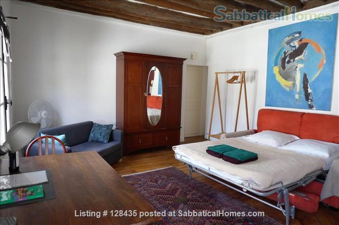 Paris, Left Bank : lovely studio apartment in Saint Germain des Prés Home Rental in Paris, Île-de-France, France 1