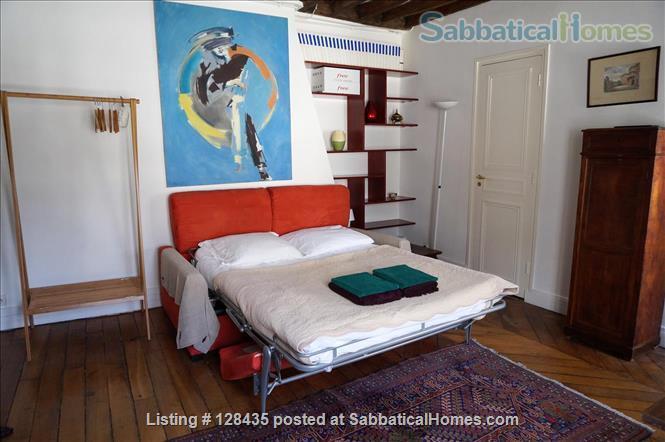 Paris, Left Bank : lovely studio apartment in Saint Germain des Prés Home Rental in Paris, Île-de-France, France 3