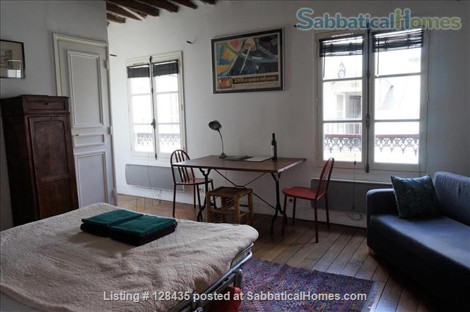 Paris, Left Bank : lovely studio apartment in Saint Germain des Prés Home Rental in Paris, Île-de-France, France 4