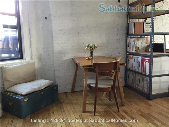 Sunny studio, in SOHO near NYU for long term sublet UTILITIES INCLUDED Home Rental in New York, New York, United States 2