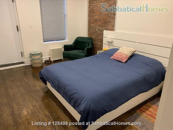 Beautiful fully furnished 900 square foot 1-BR apartment in charming brownstone! Home Rental in New York, New York, United States 0
