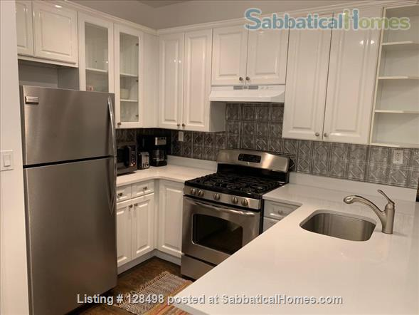 Beautiful fully furnished 900 square foot 1-BR apartment in charming brownstone! Home Rental in New York, New York, United States 2