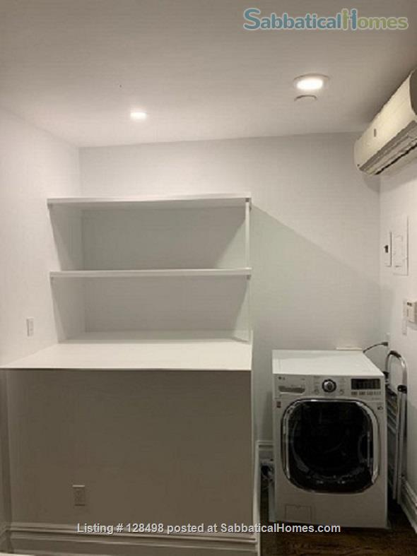 Beautiful fully furnished 900 square foot 1-BR apartment in charming brownstone! Home Rental in New York, New York, United States 3
