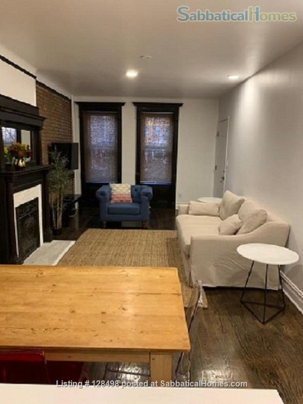Beautiful fully furnished 900 square foot 1-BR apartment in charming brownstone! Home Rental in New York, New York, United States 5