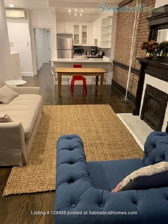 Beautiful fully furnished 900 square foot 1-BR apartment in charming brownstone! Home Rental in New York, New York, United States 8
