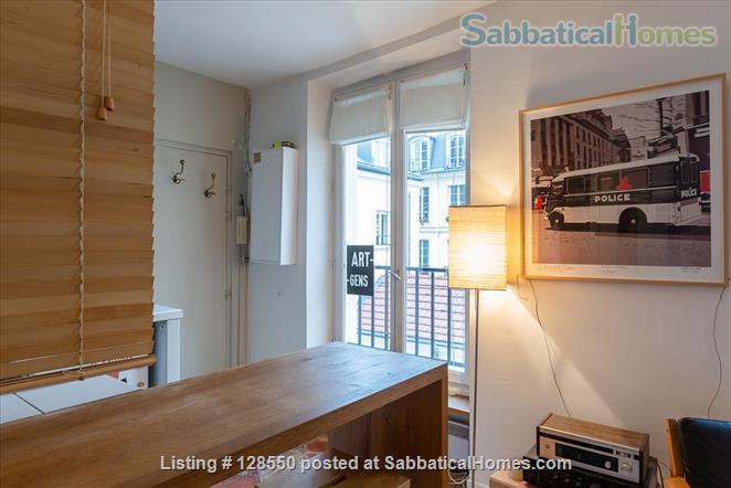 Studio appartment, Le Marais, Paris Home Rental in Paris, Île-de-France, France 6