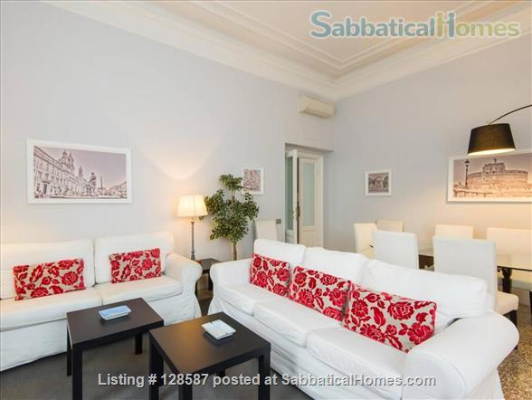 Trastevere  Large FAMILY  Apartment Home Rental in Roma, Lazio, Italy 0