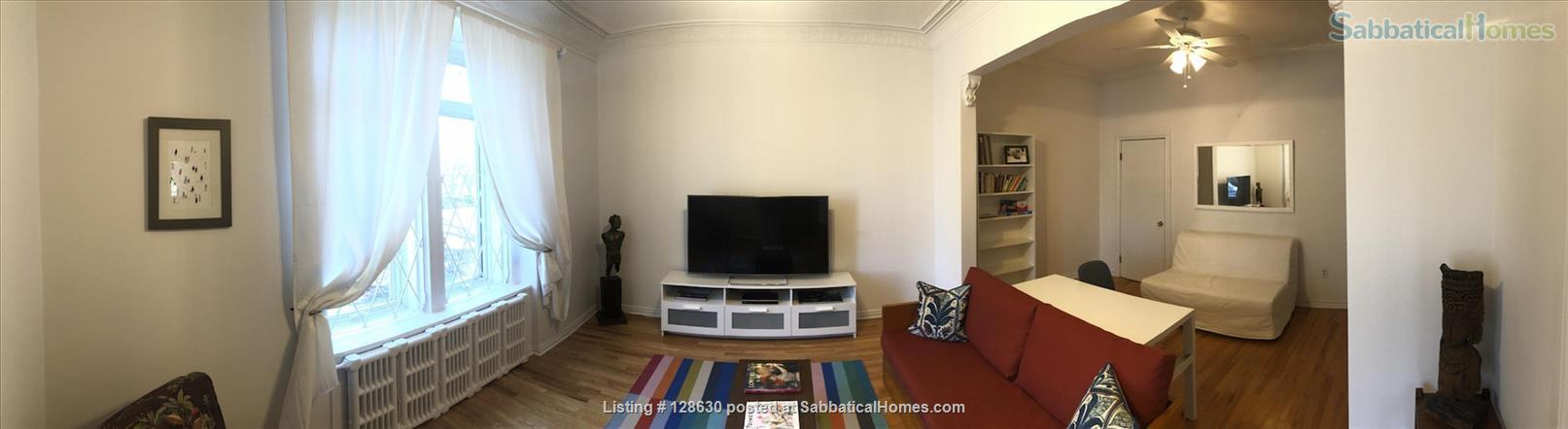 Park front furnished apartment *SPECIAL OFFER* Home Rental in Montreal, Quebec, Canada 0
