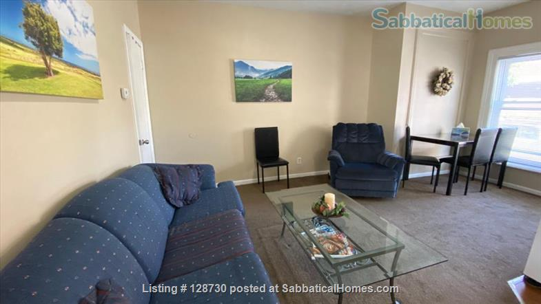 1-BR apt across from Memorial Hospital South Bend & very close to ND University. Home Rental in South Bend, Indiana, United States 2