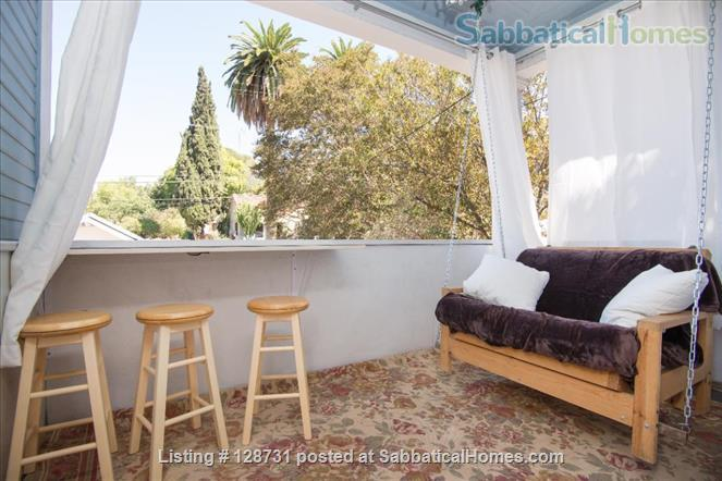 Quiet 1920's home with private porch Home Rental in Los Angeles, California, United States 1