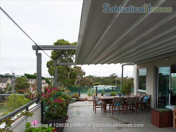 Beautiful modern 3 bedroom penthouse apartment, close to Melbourne University and the city Home Rental in Brunswick East, Victoria, Australia 9