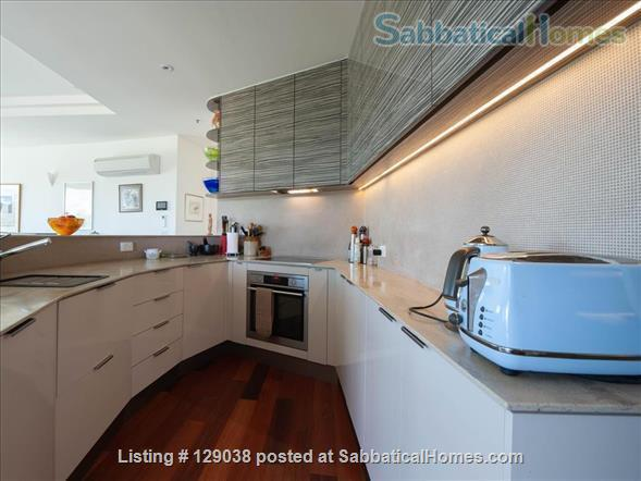 Beautiful modern 3 bedroom penthouse apartment, close to Melbourne University and the city Home Rental in Brunswick East, Victoria, Australia 2