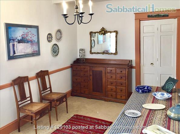 Charming, Furnished 4 BR Farmhouse Near Downtown Bethesda Home Rental in Bethesda, Maryland, United States 4