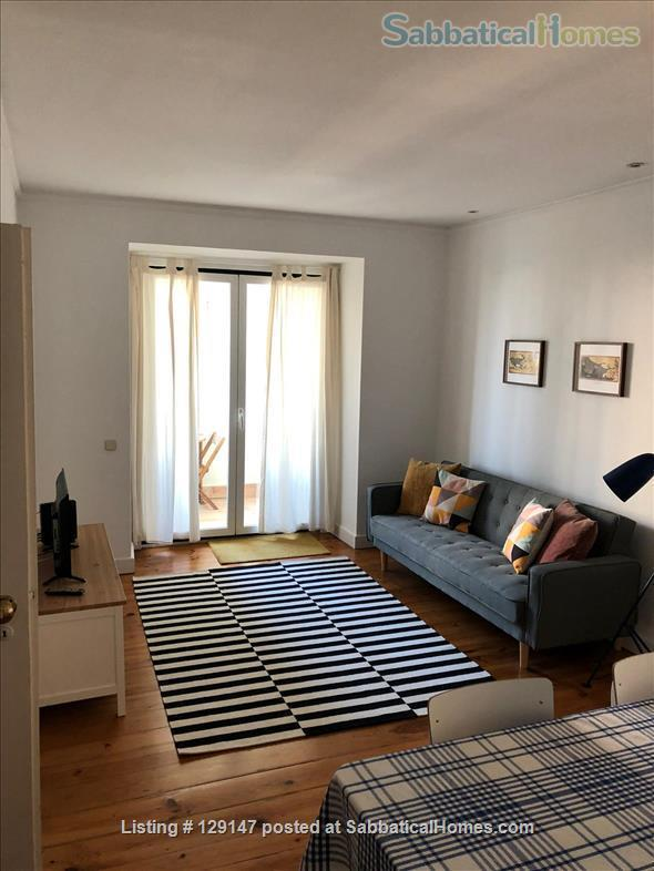 Three-bedroom apartment with river views Home Rental in Lisbon, Lisboa, Portugal 0