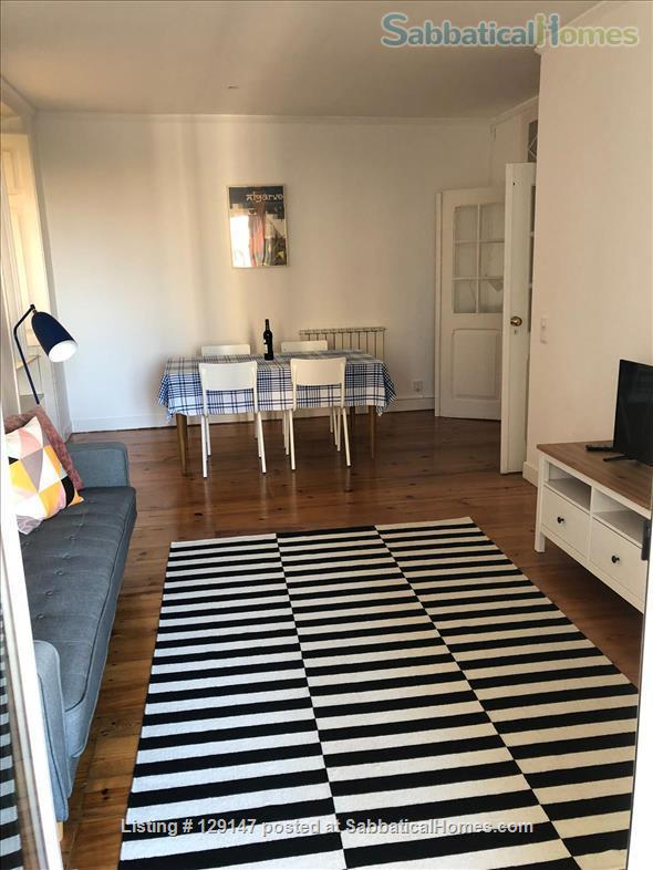 Three-bedroom apartment with river views Home Rental in Lisbon, Lisboa, Portugal 2