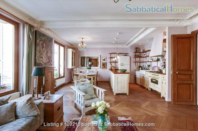 The most beautiful apartment in  Paris' Luxembourg Gardens Home Rental in Paris, Île-de-France, France 1