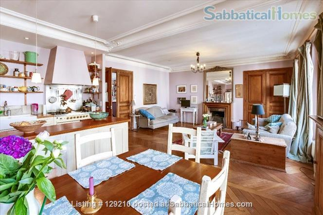 The most beautiful apartment in  Paris' Luxembourg Gardens Home Rental in Paris, Île-de-France, France 0