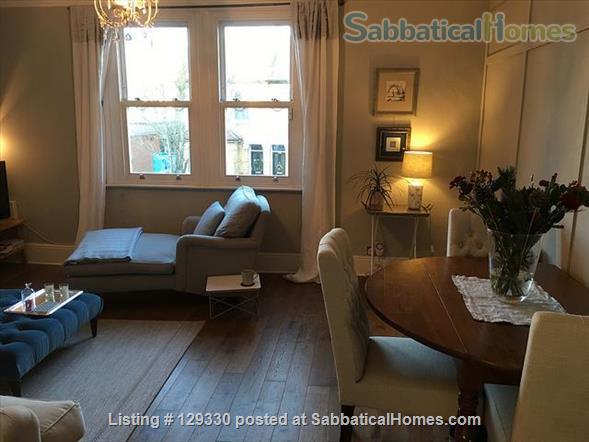 Luxury London Three-Bedroom Garden Duplex Home Rental in South Woodford, England, United Kingdom 0