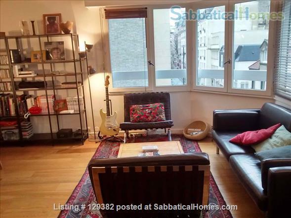 Bright and spacious  3 bedroom apartment  (Père Lachaise, Paris 20th)  Home Rental in Paris, IDF, France 3