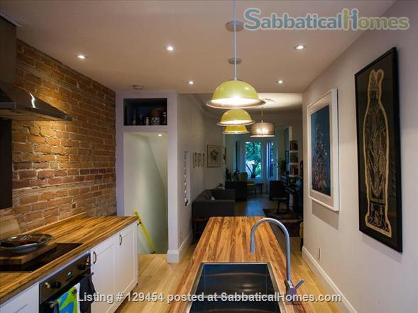 Beautiful Large 1-Bedroom, 2-Story Home in Roncesvalles Home Rental in Toronto, Ontario, Canada 1