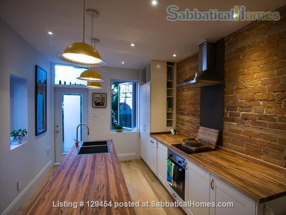 Beautiful Large 1-Bedroom, 2-Story Home in Roncesvalles Home Rental in Toronto, Ontario, Canada 0
