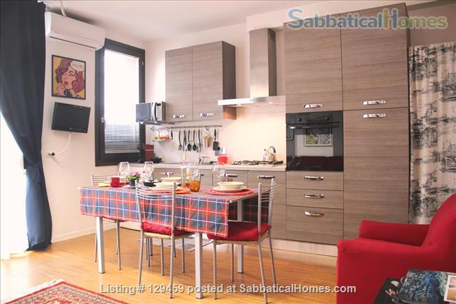 Brightest Loft Stibbert Museum Home Rental in Florence, Toscana, Italy 2