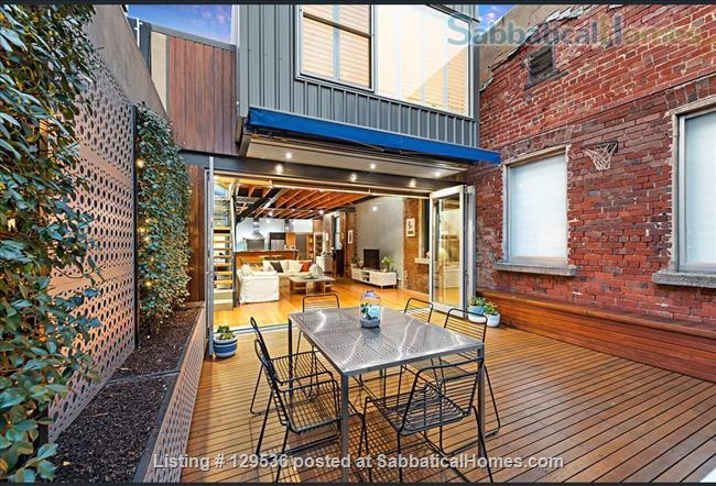 200 sq. metre 3 BEDROOM HOUSE - Quality & class in a cool conversion in Melbourne's hippest suburb - Brunswick East Home Rental in Brunswick, VIC, Australia 1