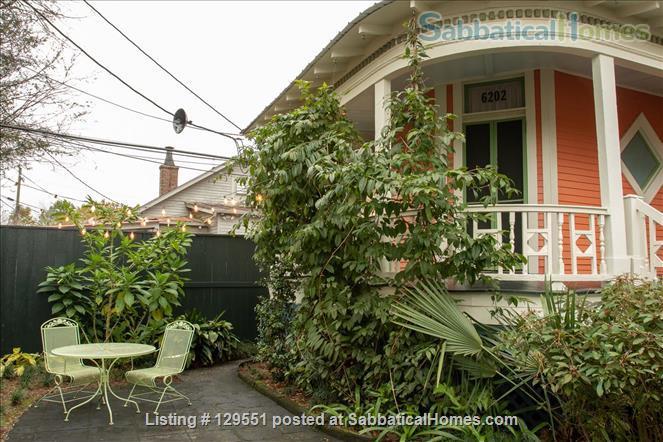 Historic Farmhouse Near Tulane/Loyola Universities Home Rental in New Orleans, Louisiana, United States 1