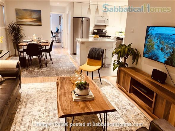 April 1, 2022 - Luxurious, furnished 2-bdrm, 1 bath in Leslieville Triplex Home Rental in Toronto, Ontario, Canada 0