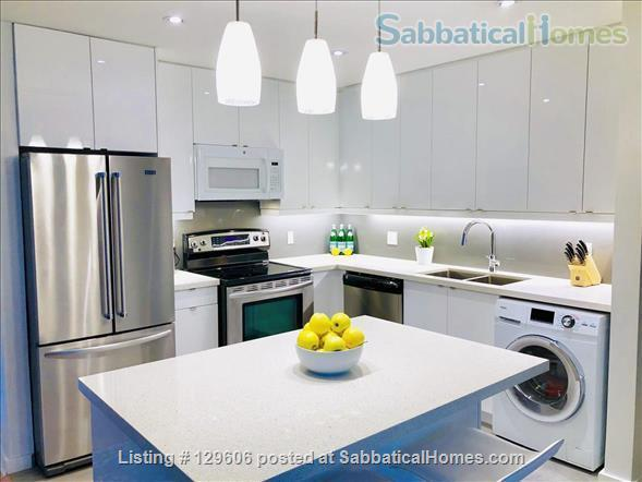 April 1, 2022 - Luxurious, furnished 2-bdrm, 1 bath in Leslieville Triplex Home Rental in Toronto, Ontario, Canada 3