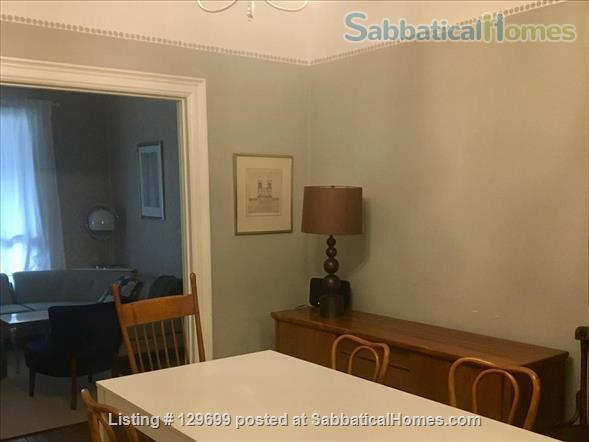 Lovely downtown house: 3 bedroom + 2 studies, back yard, front porch, electric car parking Home Rental in Toronto, Ontario, Canada 9