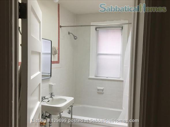 Lovely downtown house: 3 bedroom + 2 studies, back yard, front porch, electric car parking Home Rental in Toronto, Ontario, Canada 0