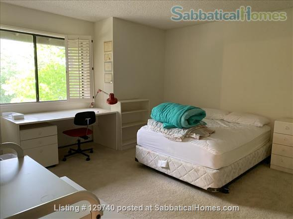 Furnished 2 bedroom townhome in  Silicon Valley by Stanford/UC Berkeley Home Rental in Menlo Park, California, United States 4