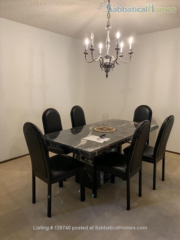 Furnished 2 bedroom townhome in  Silicon Valley by Stanford/UC Berkeley Home Rental in Menlo Park, California, United States 8