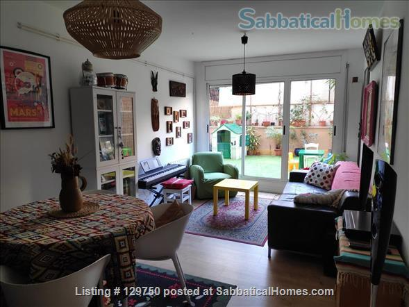 Spacious 3 bedroom apartment with 2 large patios in the center of Barcelona Home Rental in Barcelona, CT, Spain 1