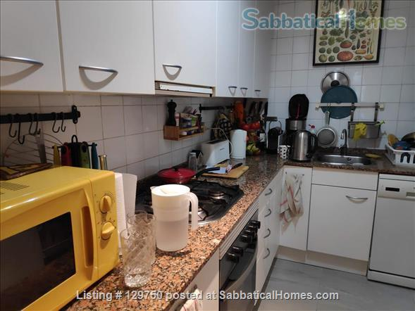 Spacious 3 bedroom apartment with 2 large patios in the center of Barcelona Home Rental in Barcelona, CT, Spain 7