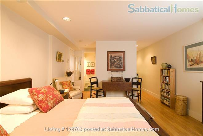 LOVELY FURNISHED STUDIO IN CHARMING BROWNSTONE (M365ST) Home Rental in Boston, Massachusetts, United States 1