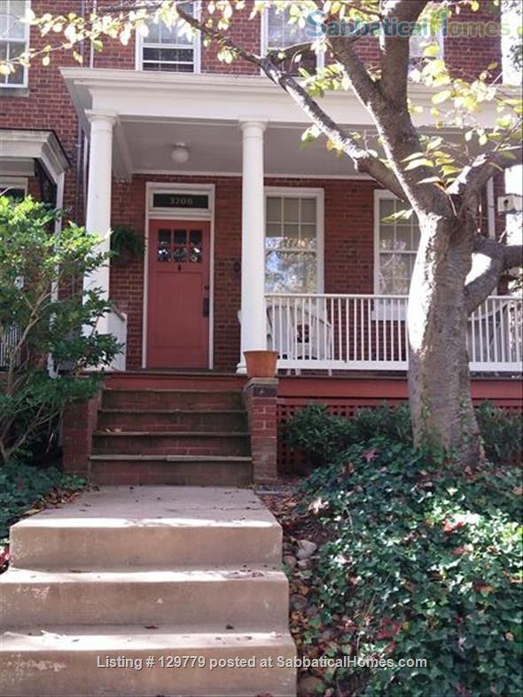 Cozy  English Basement Apt in pleasant Cleveland Park DC Home Rental in Washington, District of Columbia, United States 1