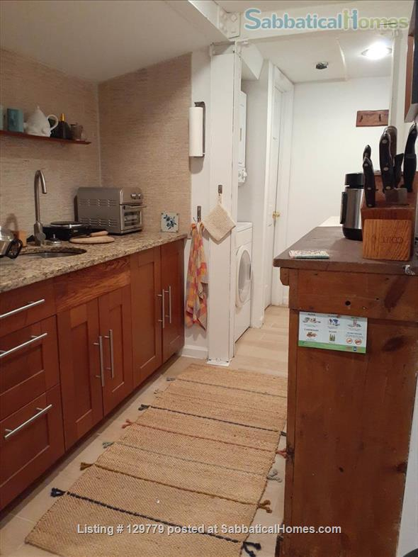 Cozy  English Basement Apt in pleasant Cleveland Park DC Home Rental in Washington, District of Columbia, United States 3
