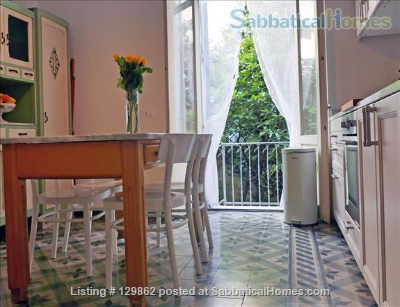 Wonderful apartment with private garden in the center of Milan (Porta Romana) Home Rental in Milan, Lombardia, Italy 6