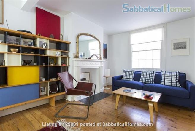 Striking Georgian house & garden in heritage zone, Central London/SouthBank Home Rental in Greater London, England, United Kingdom 0