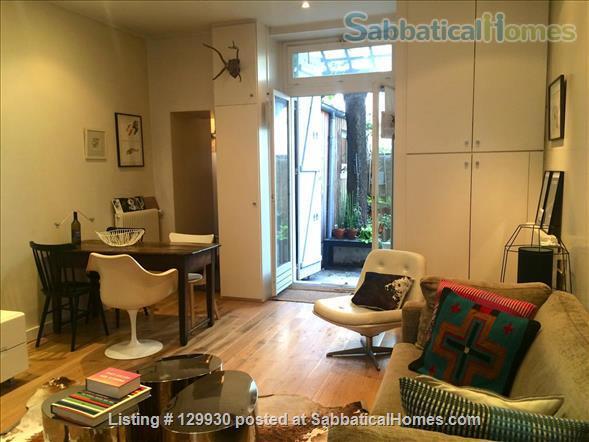 Loft-style apartment in Paris 17 with private courtyard Home Rental in Paris, Île-de-France, France 0