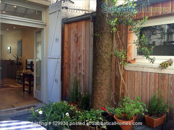 Loft-style apartment in Paris 17 with private courtyard Home Rental in Paris, Île-de-France, France 8