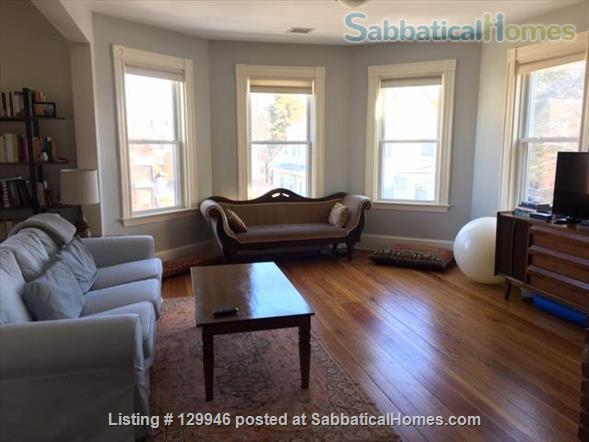 Beautiful, light, airy 2BR apartment in Inman Square Home Rental in Cambridge, Massachusetts, United States 1