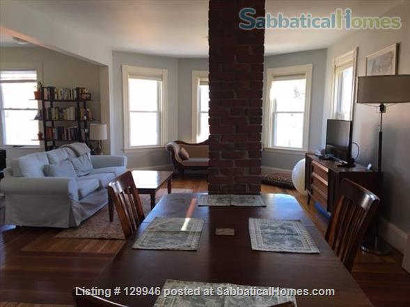 Beautiful, light, airy 2BR apartment in Inman Square Home Rental in Cambridge, Massachusetts, United States 0