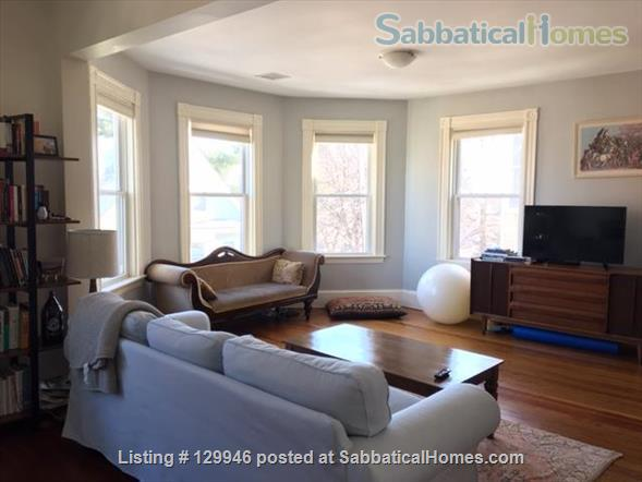 Beautiful, light, airy 2BR apartment in Inman Square Home Rental in Cambridge, Massachusetts, United States 7