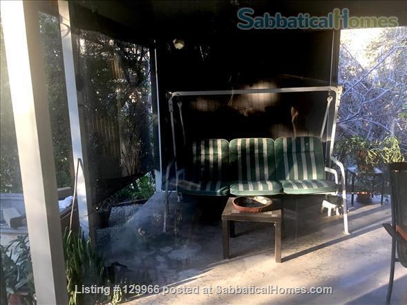 Peaceful Mid-Century Modern w/deer sightings! Secluded canyon, cul-de-sac 3000-2880 month (negotiable) based on  occupancy, 1 mile  to Art Center College of Design (north), 4.5 miles to JPL, 7.4 miles to Caltech, 8.4 miles to Huntington Library Home Rental in Glendale, California, United States 8