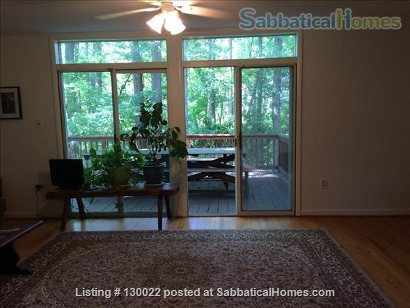 EXCEPTIONAL 3-LEVEL/4-BEDROOM/3-BATH HOME WITH LARGE WOODED YARD IN GREENBELT, MD Home Rental in Greenbelt, Maryland, United States 2