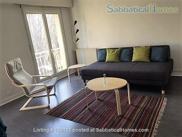 Spacious appartment with direct view onto Canal St. Martin Home Rental in Paris, Île-de-France, France 1