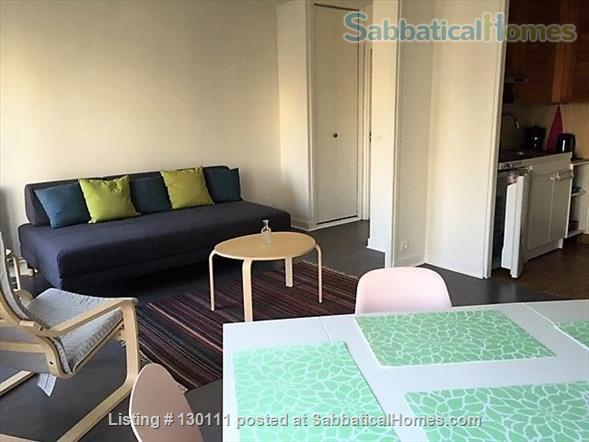 Spacious appartment with direct view onto Canal St. Martin Home Rental in Paris, Île-de-France, France 0